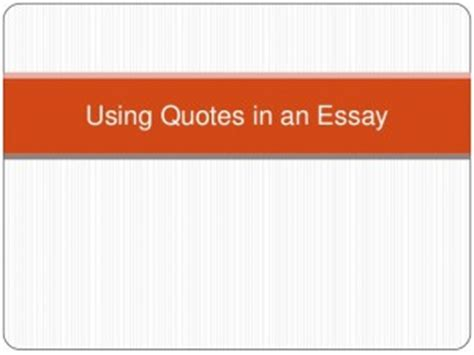 CuttingChanging Quotations Essay Writing for LPS